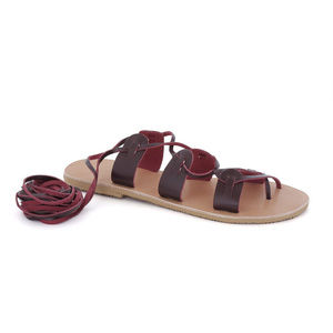 Shoes - Greek Leather Sandals 'Polyhymnia'